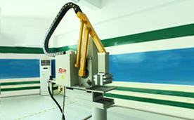 【伺服喷雾机】-压铸周边自动化设备三大件之一
