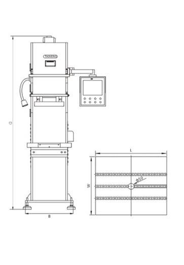 力位移监控压装机_XTM107FS