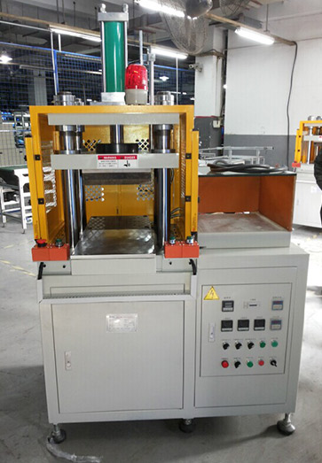 铜管压扁热压机_XTM105F