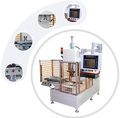 力位移监控压装机特性图